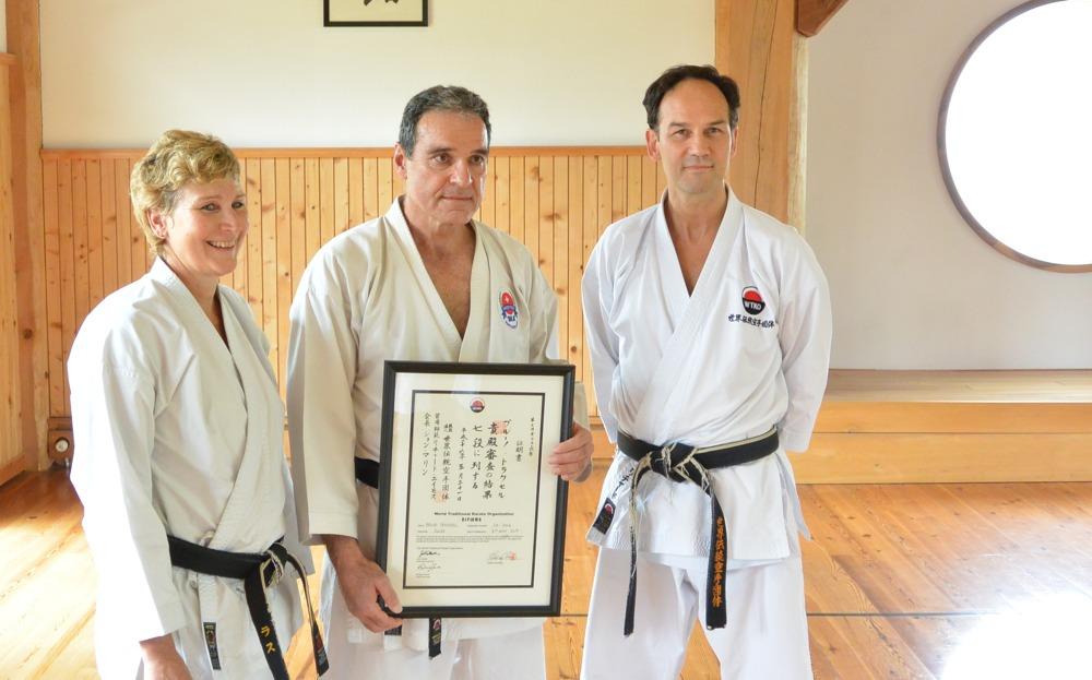 Ruth und Bruno Trachsel mit Richard Amos 31.05.2014